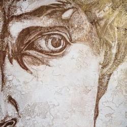 Пример нанесения художественного покрытия - образец Art-David