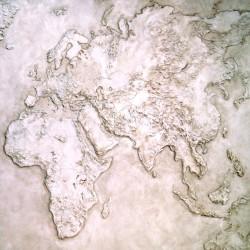 Пример нанесения художественного покрытия - образец Art-Karta-mira