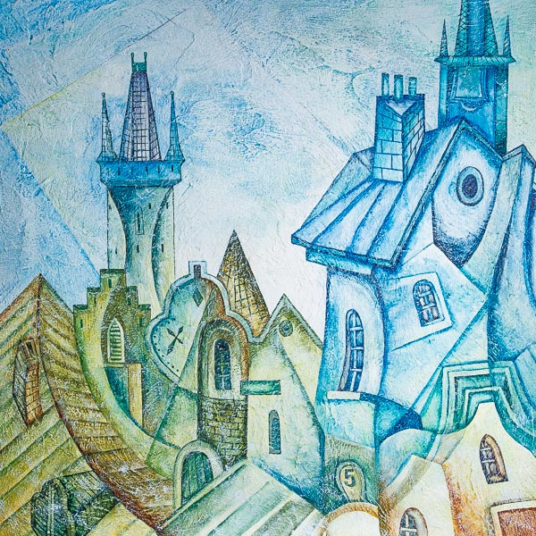 Художественная роспись фото Art-Kubizm