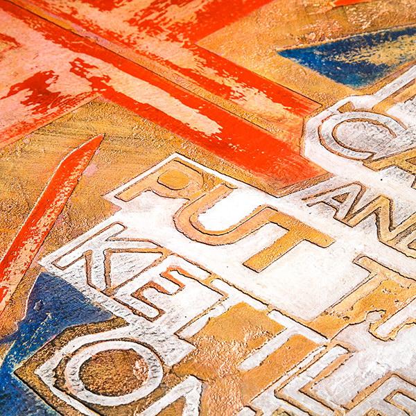 Образец Art-UnionJack под углом