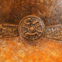 Пример нанесения художественного покрытия - образец BI-25-51-30