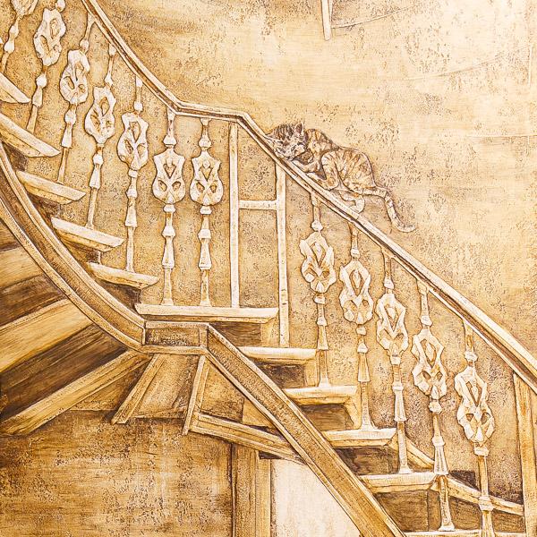 Художественная роспись фото BI-STAIRS