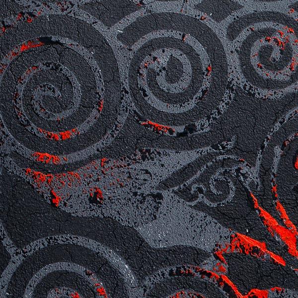 Образец Art-BlackSpiral близко