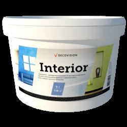 Interior - акриловая краска интерьерная для стен влагостойкая.