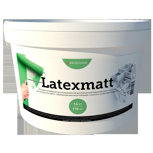 Latexmatt акриловая краска для внутренних работ