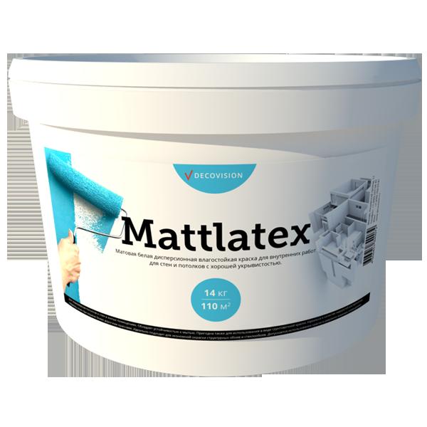 Mattlatex внутренняя краска для помещений